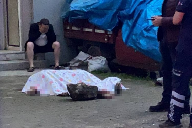 Bursa'da  yaşlı adam 5. kattan düşerek hayatını kaybetti!