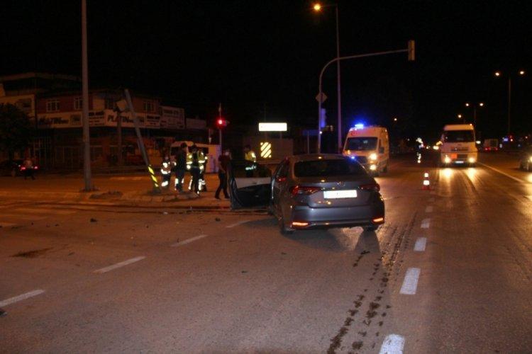 Kaza yapan sürücü, kayıplara karıştı