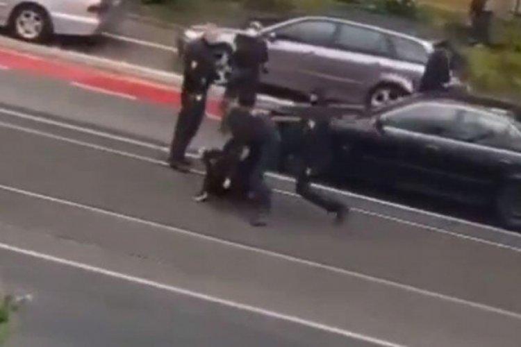 Almanya'da Türk vatandaşına polis şiddeti!