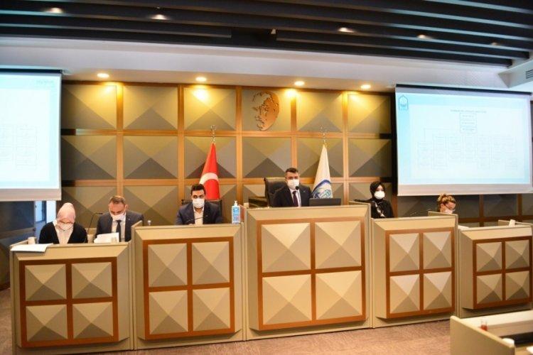 Bursa Yıldırım Belediye Meclisi'nden İsrail'e ortak tepki