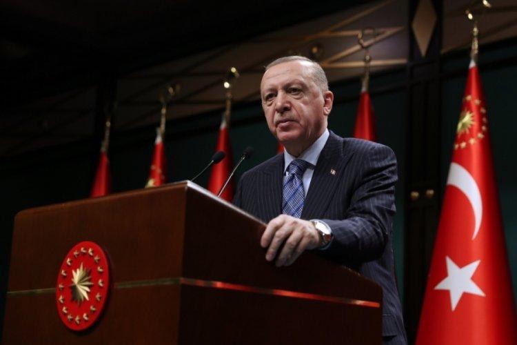 Cumhurbaşkanı Erdoğan: Esnafımıza 4 milyar 622 milyon liralık kaynağı karşılıksız veriyoruz