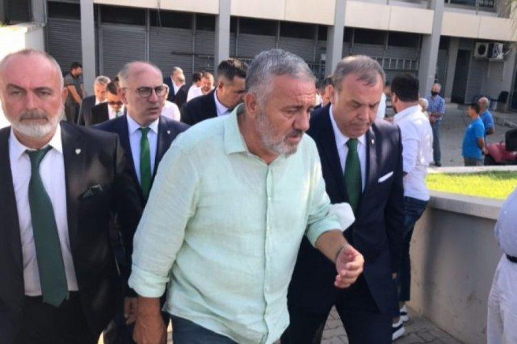 Bursaspor'da flaş istifa!
