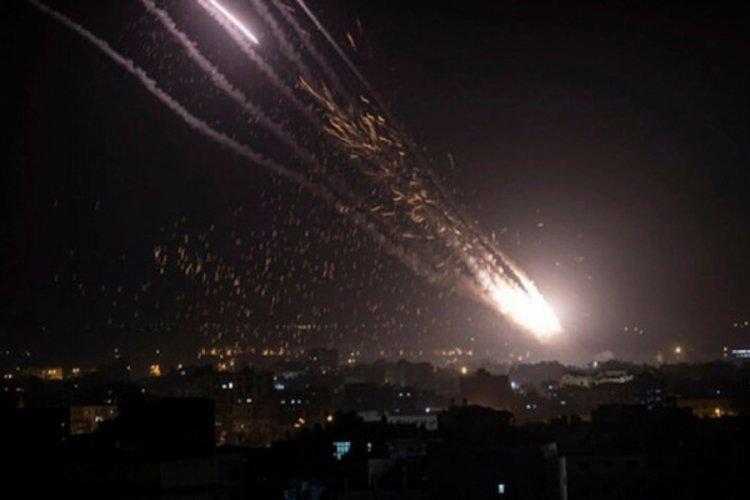 Lübnan'dan İsrail'e 6 roket atıldı
