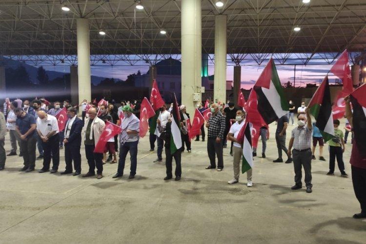Bursa'dan Filistin'e destek