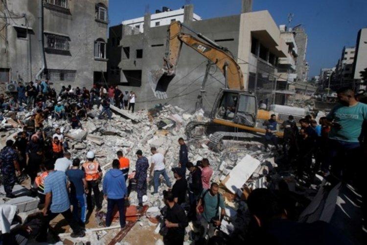 İsrail, Gazze Şeridi'nde altyapı sistemini vurdu