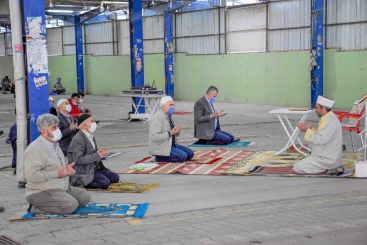 Bursa Karacabey'de Ömer Matlı Kapalı Pazar Yeri, çok amaçlı kullanım imkânı sağlıyor