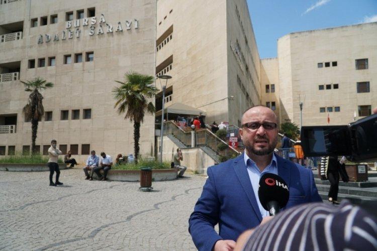 Bursa'da borçlu tarafından yanağı ısırılan avukat: Kapısına mafya mı gelsin?