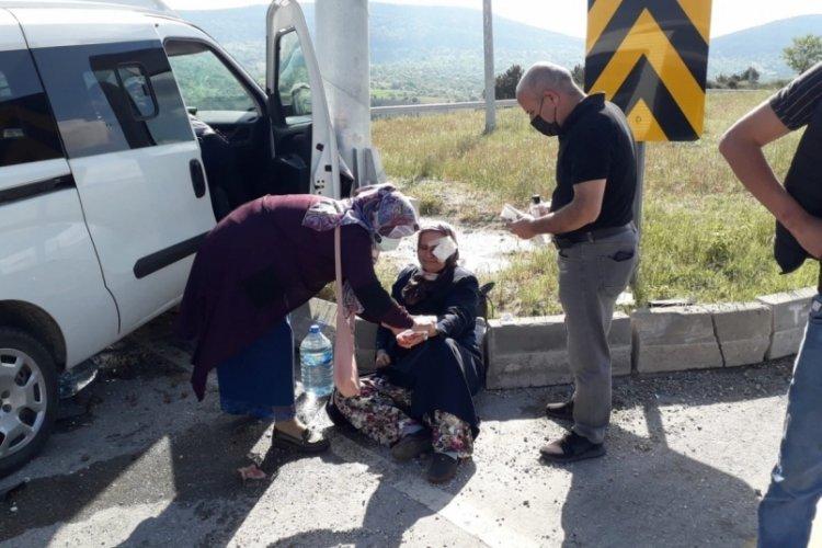 Bursa'da yaralıya ilk müdahaleyi belediye başkanı yaptı
