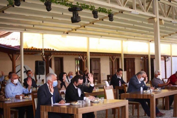 Bursa Gürsu Belediyesi'nden açık havada meclis toplantısı