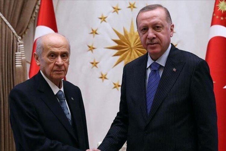 Cumhurbaşkanı Erdoğan-Bahçeli görüşmesi başladı!