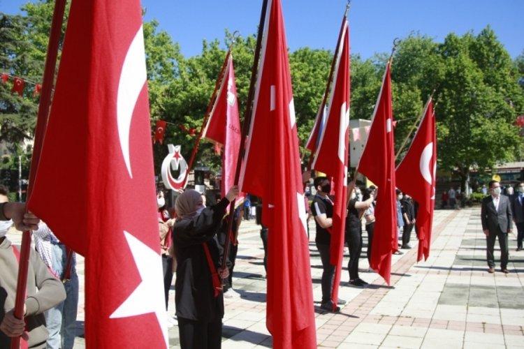 Bursa Orhangazi'de 19 Mayıs Atatürk'ü Anma Gençlik ve Spor Bayramı kutlandı