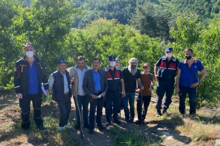 Bursa'da kanyonda kaybolan 2'si çocuk 3 kişi 20 saat sonra bulundu