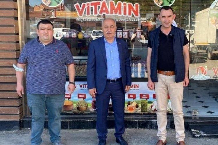 Bursa Yenişehir Belediye Başkanı Aydın, güne esnaf ziyaretleri ile başlıyor