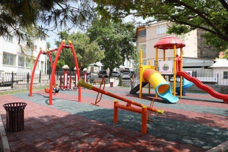 Bursa İnegöl modern parklarla donatılıyor