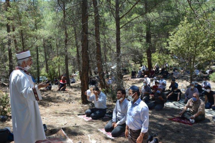 Antalya'da yağmur duasına çıktılar