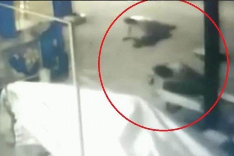 2 kişinin öldüğü silahlı kavganın güvenlik kamerası görüntüsü ortaya çıktı