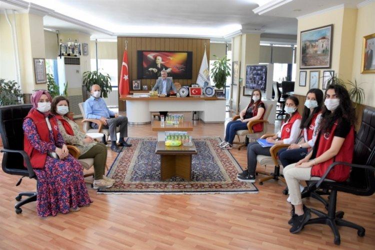 Bursa Karacabey'de ihtiyaç sahiplerine şartsız destek