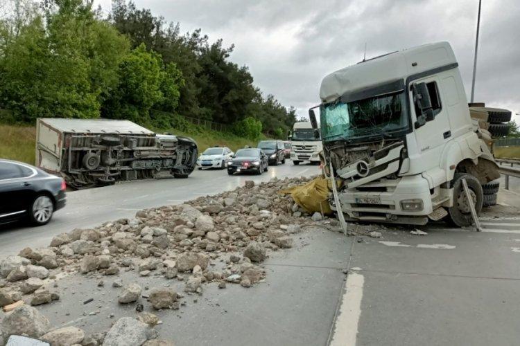 Kemerburgaz-Hasdal yolunda feci kaza
