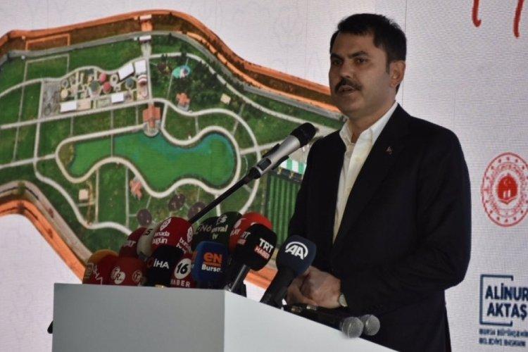 """Çevre ve Şehircilik Bakanı Kurum Bursa'da: """"Ekonomimize 17 milyar lira katkı sağladık"""""""