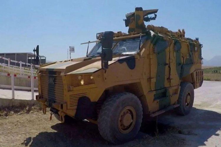 NATO, Türk zırhlısı 'Vuran'ı paylaştı