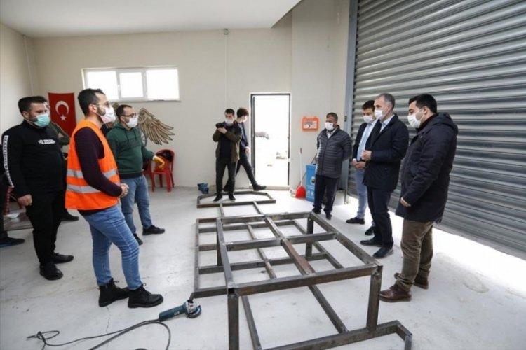 Bursa İnegöl'de proje takımları Teknofest ön değerlendirmesini geçti