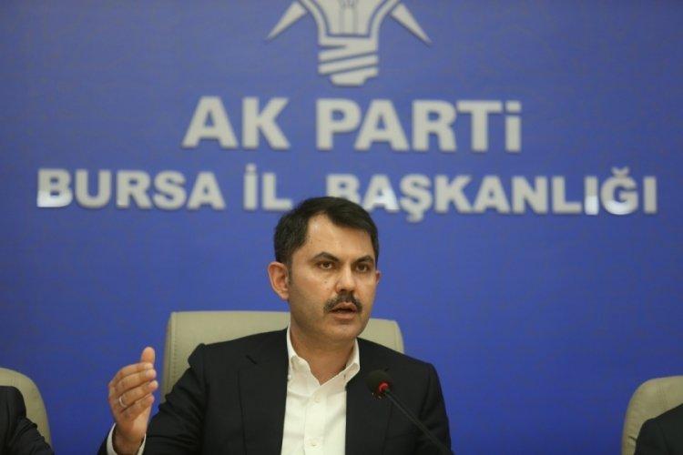 Bakan Kurum Bursa'da konuştu: Türkiye 84 milyon vatandaşı ile İsrail'in karşısında durmuştur
