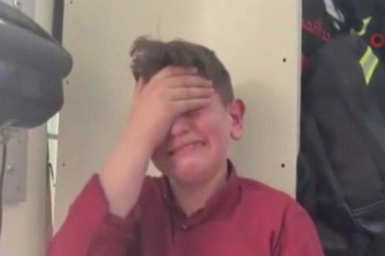 Filistinli çocuk, İsrail güçlerinin müdahalesini gözyaşlarıyla anlattı
