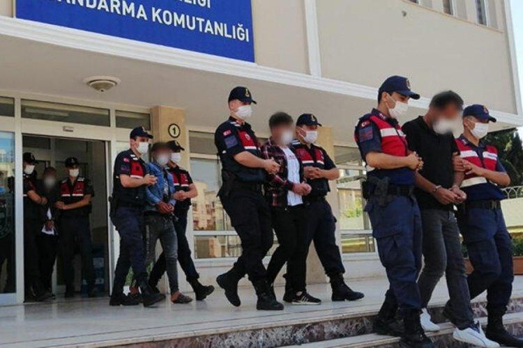 Mersin'de terör örgütü PKK operasyonu! 10 gözaltı
