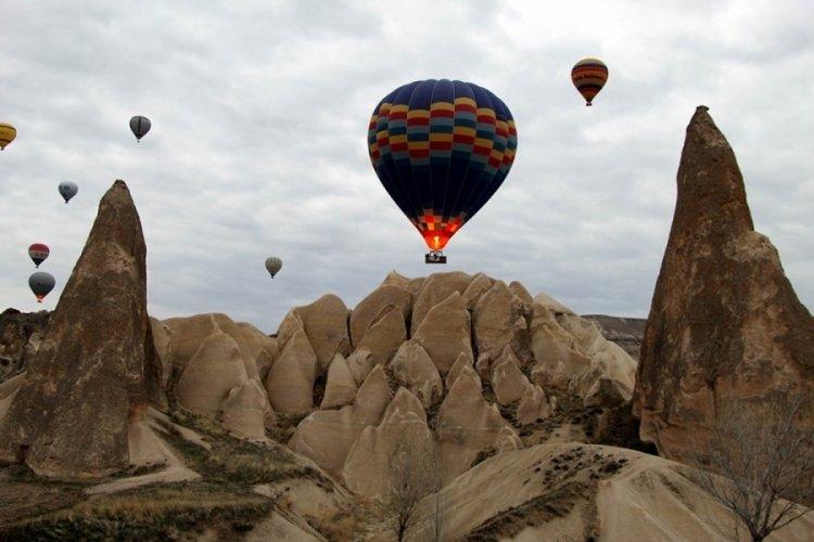 Kapadokya'da 4 gündür sıcak hava balon turları yapılamıyor