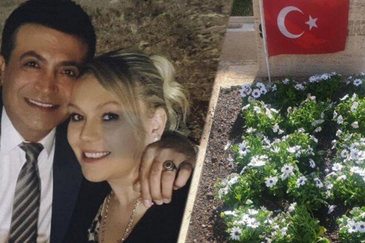 Oğuz Yılmaz'ın eşi mezarını ziyaret etti: Birbirimize doyamadık