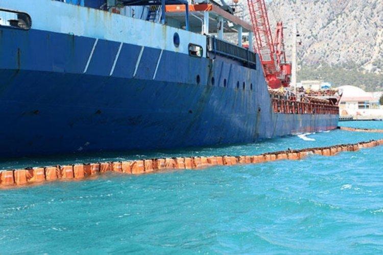 Denizi kirleten gemiye 1 milyon 566 bin lira para cezası