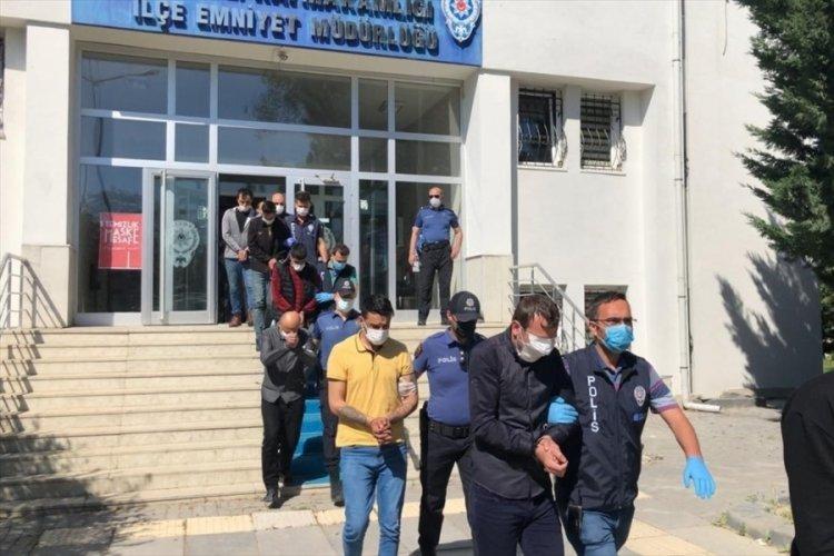 Bursa dahil 4 ildeki uyuşturucu operasyonunda 11 tutuklama