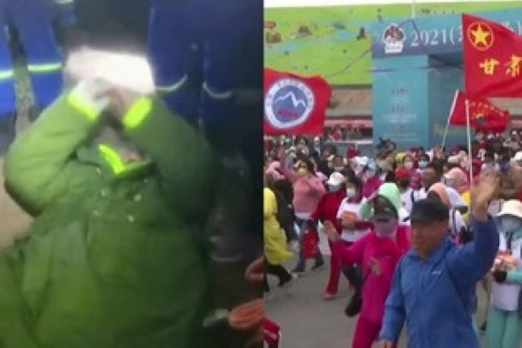 Çin'de düzenlenen dayanıklılık koşusunda 21 kişi öldü