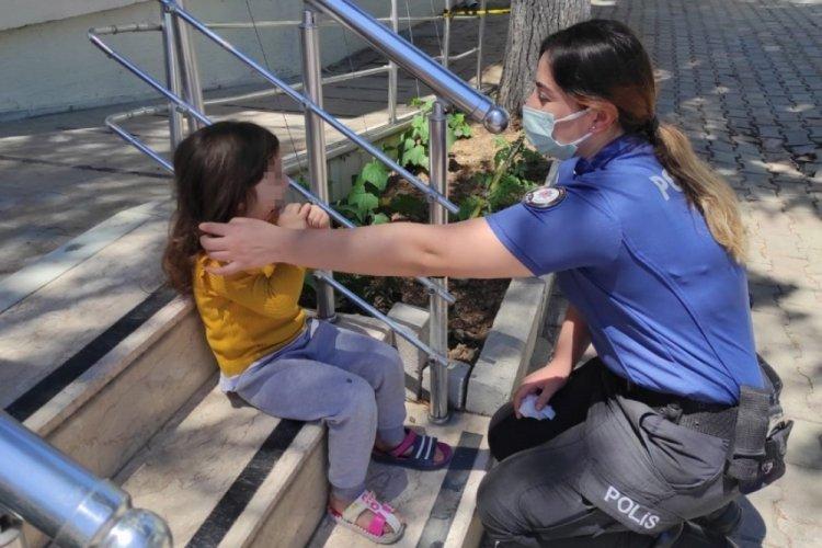 Bursa'da kaybolan kız çocuğu ailesine teslim edildi