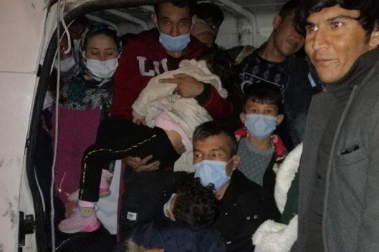 Van'da 66 kaçak göçmen yakalandı