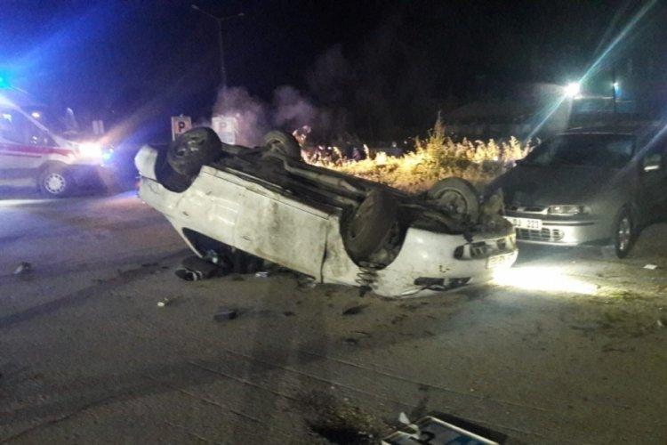 Bilecik'te kaza: Devrilen otomobilin sürücüsü hayatını kaybetti