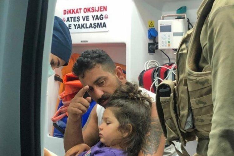 4 yaşındaki Roza'yı jandarma ve AFAD buldu