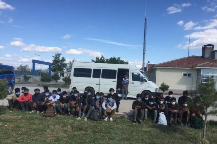 Başkent'te 30 kaçak göçmen yakalandı