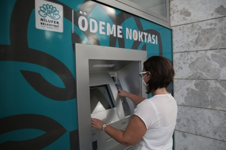 Bursa Nilüfer Belediyesi'nden vatandaşa vergi ödemesi kolaylığı