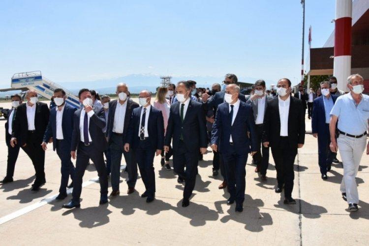 Bursa Yenişehir Havaalanında uçuşlar yeniden başladı