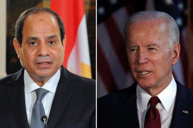 Biden ve Sisi, Gazze'deki son durumu görüştü