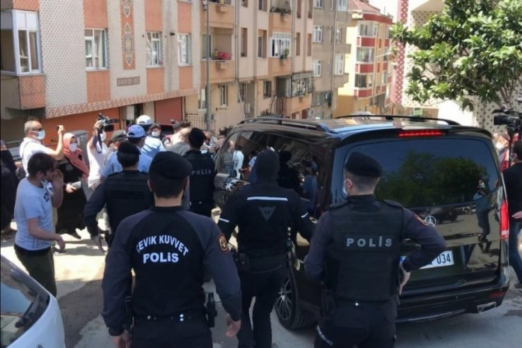 İmamoğlu protestosunda arbede çıktı!