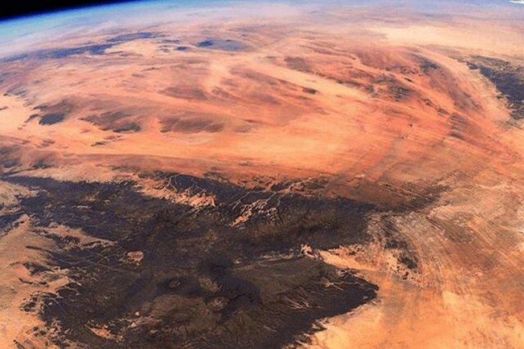 Uzaydan görüntülendi... İşte Dünya'daki Mars!
