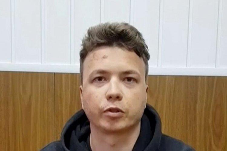 Uçakta gözaltına alınan Protaseviç'ten ilk açıklama