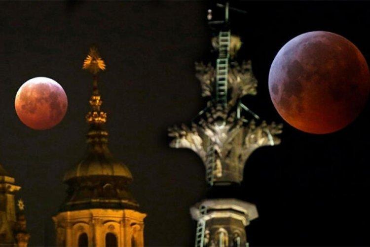 """""""Süper Çiçek Kanlı Ay"""" tutulması yarın gerçekleşecek"""