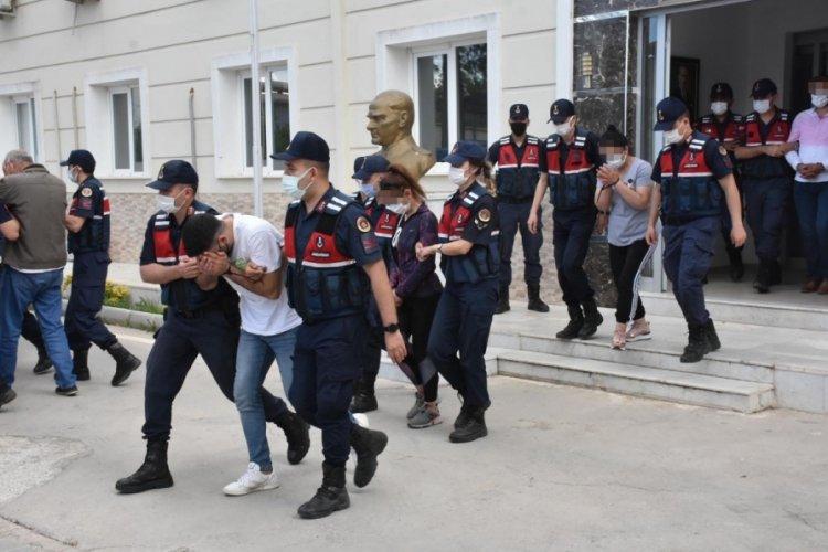 'Ayrancılar mini Kolombiya' çetesinde 7 tutuklama