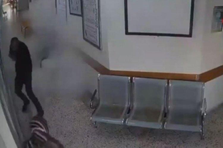 Gazze'ye yönelik saldırılarda hastane saldırısının görüntüleri ortaya çıktı