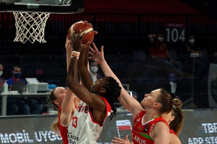 Hazırlık maçı: Türkiye: 56 - Belarus: 52