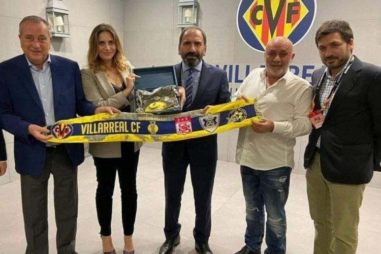 Sivasspor, Villarreal'e başarılar diledi