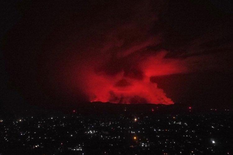 Nyiragongo Yanardağı'nın bulunduğu bölgede dün 119 deprem meydana geldi